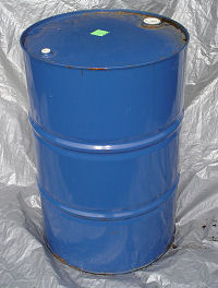 55 gallon metal barrel